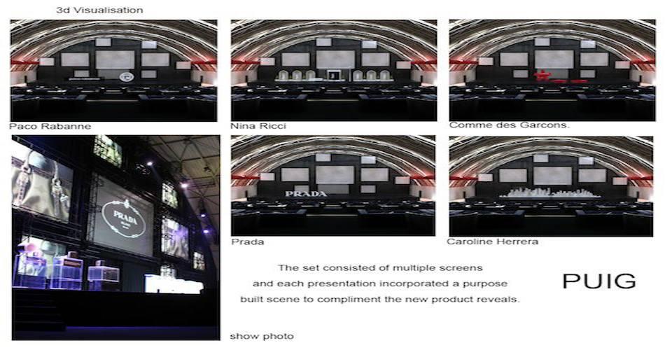 8PUIG-PUIG 3d images composite